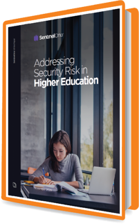 eBook Graphic Addressing Security Risks in Higher Education
